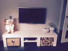 Tv meubel#steigerhout#haardhout