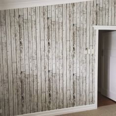 Timber effect wallpaper. Whitewashed wood effect.suitable in any room Whitewash Wood, Loft, Tv, Wallpaper, Furniture, Home Decor, Decoration Home, Room Decor, Television Set
