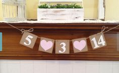 Save the date banner…. $14