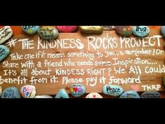 The Kindness Rocks Project - YouTube