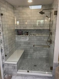 If you are looking for Master Bathroom Shower Remodel Ideas, You come to the right place. Here are the Master Bathroom Shower Remodel Ideas. Bathroom Remodel Pictures, Restroom Remodel, Remodel Bathroom, Tub Remodel, Restroom Ideas, Tub To Shower Remodel, Master Bath Remodel, Bathroom Images, Diy Bathroom Decor