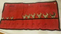 Sunex Stubby Combination 9 Piece Wrench Set | eBay