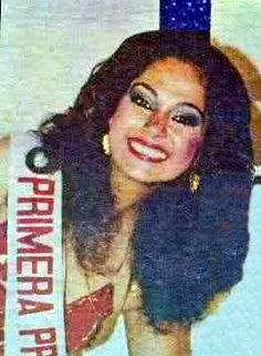 Ana Lucía Rivera Castro - Miss World Honduras 1982