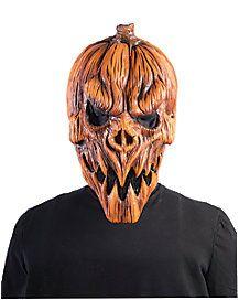 Scary Pumpkin Mask - for scarecrow Pumpkin People, Evil Pumpkin, Pumpkin Mask, Scary Pumpkin, Scary Halloween Masks, Spooky Halloween Decorations, Halloween Pumpkins, Halloween Prop, Biscuit