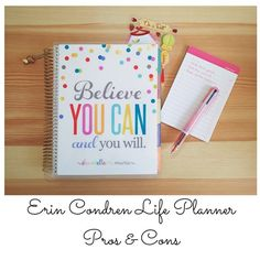 Do you love Erin Condren but you're not ready to commit just yet? I've got some pros & cons on one of my favorite planner (and stationery) brands on the blog now!