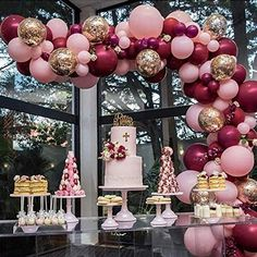 Pink Gold and Burgundy Balloons 70 pcs 12 inch Burgundy Balloons Baby Pink Balloons Gold Confetti Balloons Burgundy and Gold Party Decorations, Burgundy and Gold Wedding Decorations Confetti Balloons Wedding, Bridal Shower Balloons, Rose Gold Balloons, 30th Balloons, 30th Birthday Balloons, Latex Balloons, Balloon Bouquet, Balloon Garland, Balloon Arch