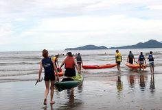 A Secretaria de Esportes (Semes) abriu nesta segunda (20) inscrições de vagas remanescentes para curso de canoagem e stand up no Setor Náutico