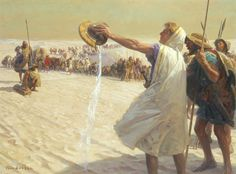Alexander the Great Refuses Water in the Desert, Tom Lovell