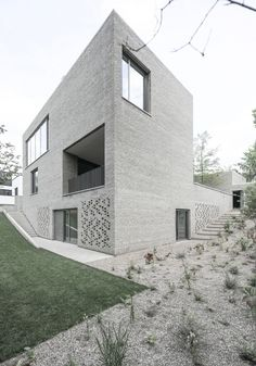 Winners of the best architects 14 awards | House Z in Frankfurt, Germany by Bayer und Strobel Architekten; Photo: Peter Strobel | Bustler