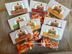 Do you have a special treat for the kids on Thanksgiving? Here's a fun and super simple idea