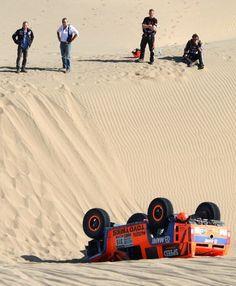 Gordon Accidente in Dakar 2013
