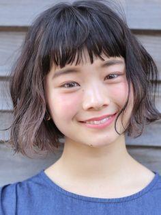 ドゥーア ダイカンヤマ(Door Daikanyama) インナーカラー シースルーバング ボブ 3【代官山 Door 赤間】