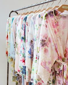 Fun, Floral, & Ultra-Fem! Prints perfect for your maids, mom, and you exclusively at BHLDN.