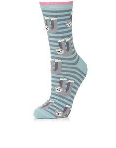 All Over Sloth Socks