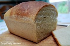 I'm sharing my favorite frugal bread recipe, at just $.44 a loaf it 's hard to beat. It's also dairy free and egg free too.
