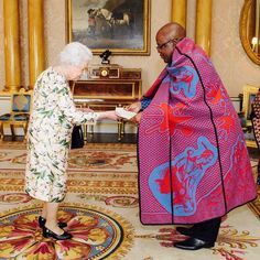 30 June 2017 The Queen received two new high commissioners: Dr. John Oliphant from Lesotho, and Mr. Papa Owusu-Ankomah from Ghana. #BritishRoyalty #BritishMonarchy #BritishRoyalFamily #Royals #Royalty #RoyalFamily #TheQueen #QueenElizabeth #QueenofEngland #QueenElizabethII #ElizabethR #ElizabethII #ElizabethWindsor #HMTheQueen #HerMajestyTheQueen  via ✨ @padgram ✨(http://dl.padgram.com)