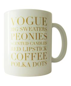 The perfect coffee cup!