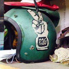 #helmet #peaceout #Padgram