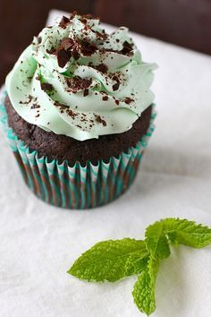 Mint Chocolate Cup Cakes:  I don't think there could be anything better; not anything. I am making these this week for another family dinner. Can't wait.And its helthy