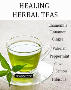 List of Healthy herbal teas and their benefits