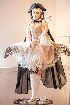 Yulia Sochilina Wooden dolls
