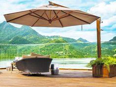Portal diário Decor, móveis área externa, ver mais em diariodecor.com.br #decoracao  #decor #ombrelone