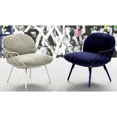 .@interiorforyou | Pina Low Chair Design by Jaime Hayon for Magis | Webstagram