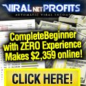 Viralnet Profits Review. Jason Hunt, the creator of Viral Net Profits has earned as much as  $18,376.19 in 44 minutes,   and he's now offering the chance for you to do the same.