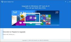 Downgrade Windows 10 To Windows Easily With EaseUS System GoBack Windows 10 Operating System, New Operating System, Upgrade To Windows 10, Click And Go, Software, Tech Hacks, Windows 8, Microsoft Windows, New Technology