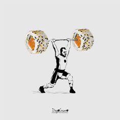 Los collages con comida de Diego Cusano