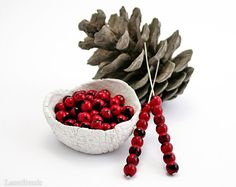 Red and Black Czech Round Beads 6mm 50 Pressed Druk by LaserBeads, $3.20