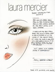 Episode 8: Recreate this week's winning look with this Laura Mercier face chart.