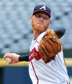 ATLANTA, GA - SEPTEMBER 1: Mike Foltynnewicz #26 of the Atlanta Braves throws a second inning pitch against the San Diego Padres at Turner Field on September 1 2016 in Atlanta, Georgia. (Photo by Scott Cunningham/Getty Images)