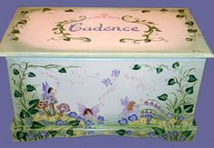 Fairy Toy Chest Custom Design