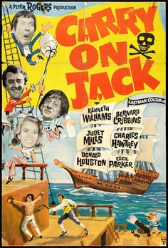 [~ Full Films ~] Carry On Jack 1963 Watch online Movies 2019, Old Movies, Vintage Movies, Movie Poster Art, Film Posters, Cinema Posters, Classic Tv, Classic Movies, Movie Theater