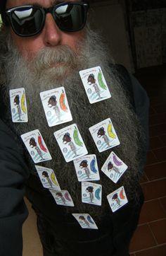 BEARD GALLERY - Opere di Patrizio Maria installate sulla mia barba (Galleria Pensile)