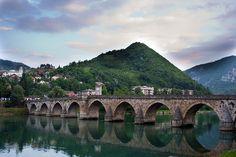 Drina Bridge, Bosnia and Herzegovina