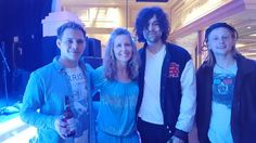 April E ‏@SassySWer  May 9 @Catthomas @NewHollowBand They were great last night! Look forward to hearing their first album