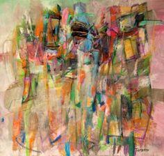 "Saatchi Art Artist Todd Clark; Painting, ""It's All I See"" #art"