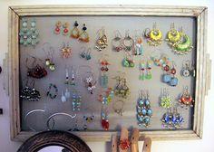 make your earrings art