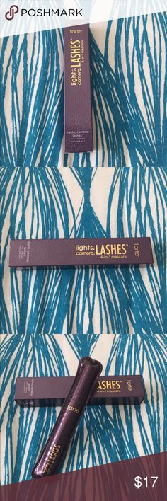 Tarte Lights, Camera, Lashes 4-in-1 mascara BRAND NEW Tarte Lights, Camera, Lashes 4-in-1 mascara tarte Makeup Mascara