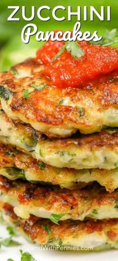 These zucchini panackes are one of my favorite snacks without all of the guilt! spendwithpennies zucchini keto snacks zucchinipancakes appetizer easyappetizer easyrecipe easysnack is part of Zucchini pancakes - Zucchini Chips, Zucchini Pancakes, Zucchini Bites, Zucchini Parmesan, Healthy Zucchini, Vegetable Recipes, Vegetarian Recipes, Cooking Recipes, Healthy Recipes