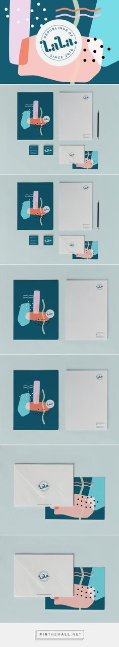 Republique of Lala Branding by Some Studio