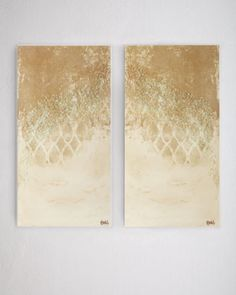 """Bronze Wall"" Giclees at Neiman Marcus."