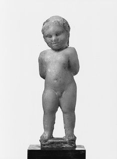 Statue en marbre d'un Harpocrate - Ny Carlsberg Glyptotek