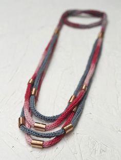 degra | tejido crochet + Cu + Ag | Claudia Urzúa | Flickr