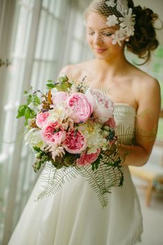 absolutely incredible wedding bouquet!