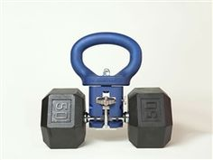 Kettle Clamp - turn any dumbbell into a kettlebell