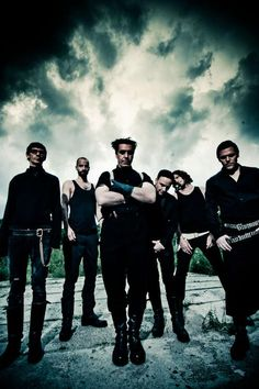 Rammstein - GREAT metal band and bold innovators that put on a show. I REALLY hope to see them live one day, if I can ever afford a freakin' ticket...