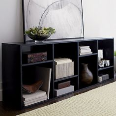 The Threshold Carson Horizontal Bookcase This Is A Pretty Good Contender It S White Has Right Depth And Width 54 Which Definite